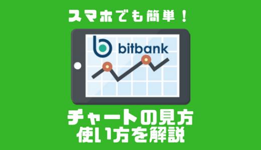 【スマホでも簡単取引】bitbank(ビットバンク)のチャートの見方と使い方
